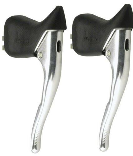 Dia-compe Blaze BRS Aero Drop Bar Silver Road Bicycle Brake Levers