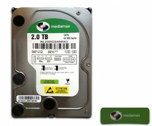 Mediamax-2TB-3-5-034-interne-Festplatte-SATA-III-5400RPM-64MB-Cache-WL2000GSA6454G