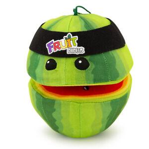 Fruit Ninja Watermelon w/ Headband Plush Toy Stuffed Animal Video Game Figure