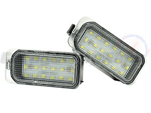 Ford 18 Led Number Plate Lights Licence Units Fiesta Focus