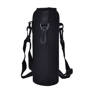 Image Is Loading 1000ml Water Bottle Carrier Insulated Cover Bag Holder