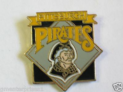 Logo Emaille Pin b2 Schwarz Neue Mode Pittsburgh Pirates Baseball Diamant