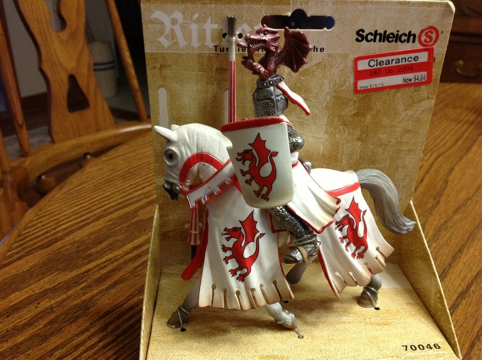 Schleich World of Knights Tournament Knight With Dragon BNIB