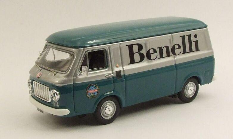 Rio 4381 - Fiat 238 Benelli transport Moto - 1970    1/43