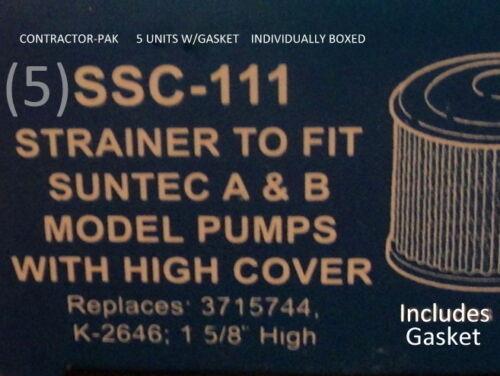 "5 SSC-111 3715744 K-2646 B pump fits all 1-5//8/"" deep pumps RS-948"