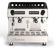 New 2 Group Compact Commercial Espresso Cappuccino Machine Caravel Fiamma