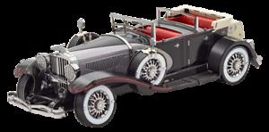 Fascinations-1935-Duesenberg-Model-J-Metal-Earth-3D-Model-Car-New-MMS200