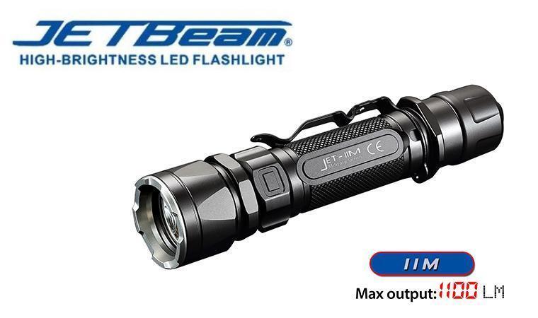 New Jetbeam JET-IIM  Cree XP-L HI 1100 Lumens LED Flashlight Torch ( 18650 )  welcome to order