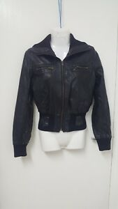 Ladies 10 Leather Stunning Les Real Jacket Copines Size Bonnes wqp8WEgg