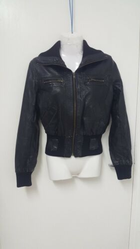 Leather Jacket Bonnes Les Real 10 Size Stunning Copines Ladies 7Sq6X