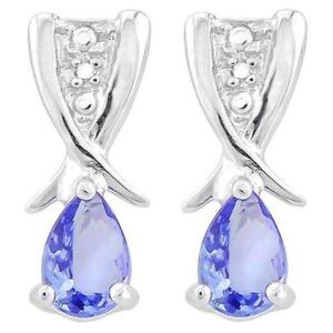 Ohrringe-Ohrstecker-Lucinda-925er-Silber-0-64-Kt-echter-Tansanit-Diamant