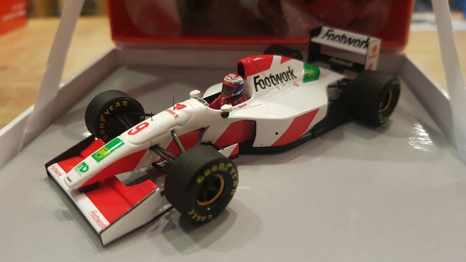1 43 Footwork Mugen FA14, Jos Verstappen - 1993, GP World edition