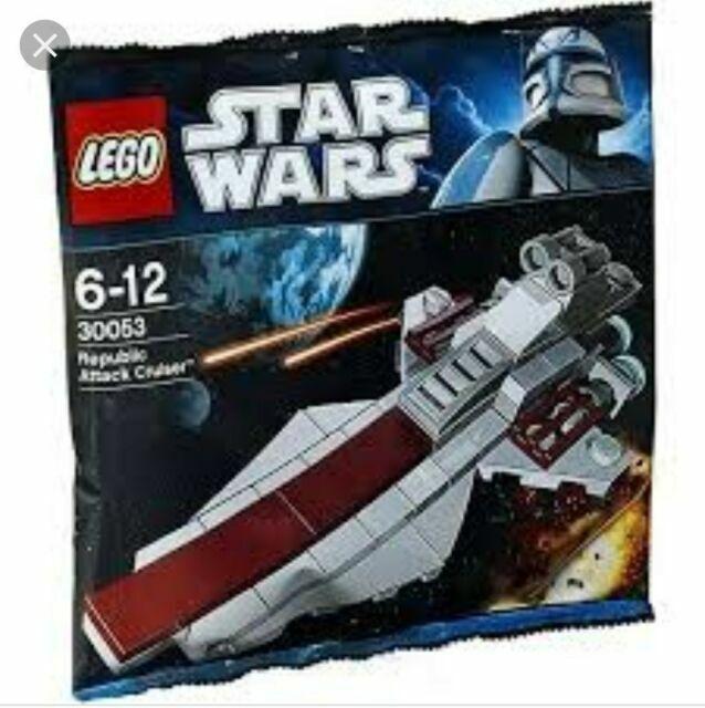 Sealed Brand NEW Polybag Set LEGO 30053 Star Wars Republic Attack Cruiser