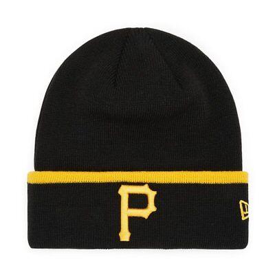 c888a7fff New Era MLB Pittsburgh Pirates Team Cuff Sport Knit Skull Cap Beanie Fitted  Hat 192524492093 | eBay