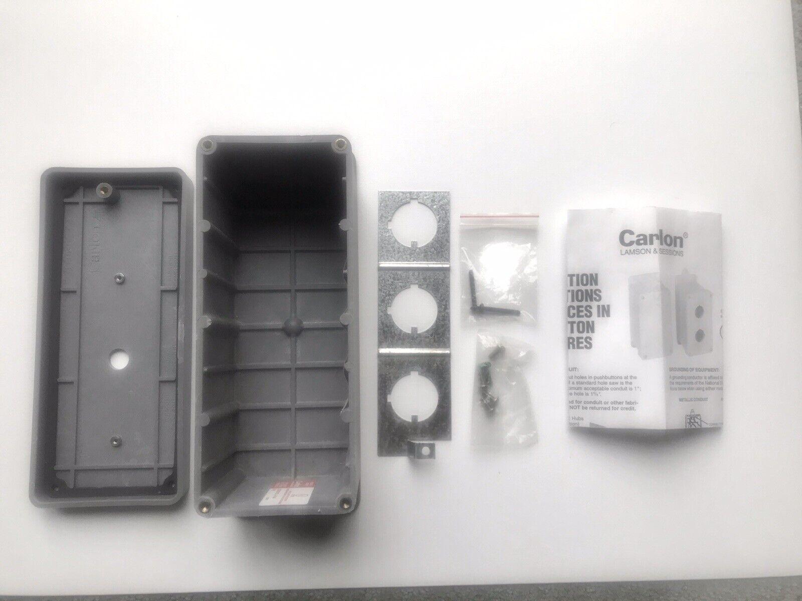 "CARLON CN2420A 24/""X20/""X7-1//2/"" FIBERGLASS CABINET STYLE ELECTRICAL ENCLOSURE"
