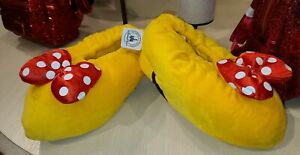 Minnie Mouse Feet Slippers Adult High