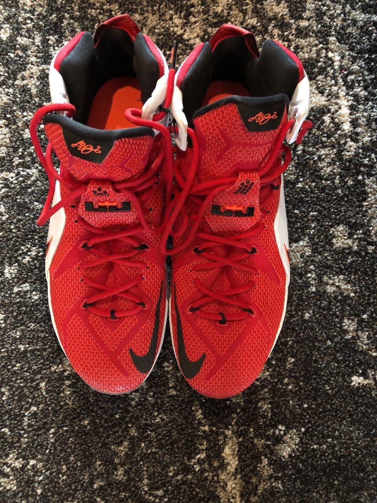 reputable site c99d9 ec08c Nike Lebron 12. Size 15 Red. Nike Men s Air Jordan ...