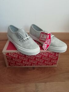 Chaussures baskets Vans Authentic Slim neuves Taille 34.5