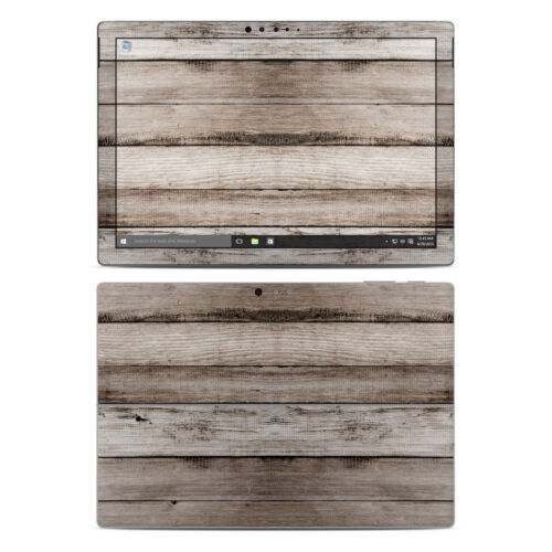 Sticker Decal Surface Pro 4 Skin Barn Wood by Reclaimed Woods