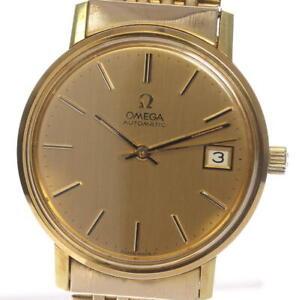 Quadrante-in-oro-OMEGA-data-cal-1012-Orologio-da-uomo-automatico-485566
