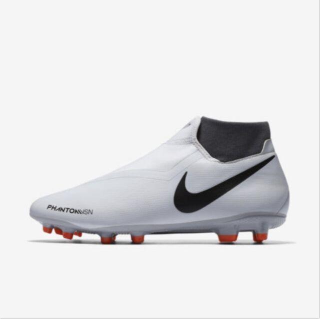 25af403de8c Nike Phantom VSN Academy DF FG MG Pure Platinum AO3258-060 Soccer Cleats  Men s