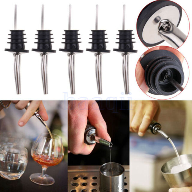 Pourer Free Flow Bar Accessories Wine Pouring Spout With Stopper Liquor Popular