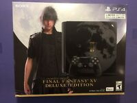 Sony PlayStation 4 Final Fantasy XV: Limited Edition Bundle 1TB Black Console Video Game Consoles