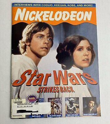 Nick Nickelodeon Magazine March 1997 Star Wars Coolio