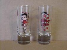 Betty Boop SHD 2-1/2 oz HEAVY DUTY SHOOTER GLASSES 2-PIECE SET
