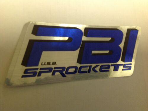 PBI Sprockets DECAL STICKER MOTORCYCLE ATV QUAD TRAILER DRAGBIKE MOTOCROSS