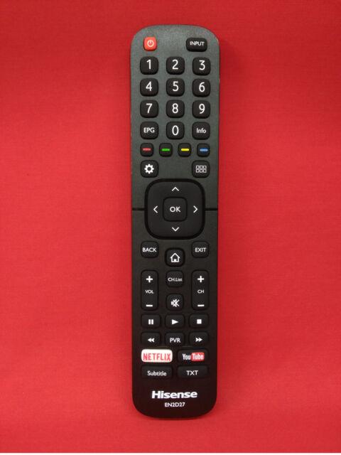 Mando a Distancia Original TV HISENSE // LTDN55K321