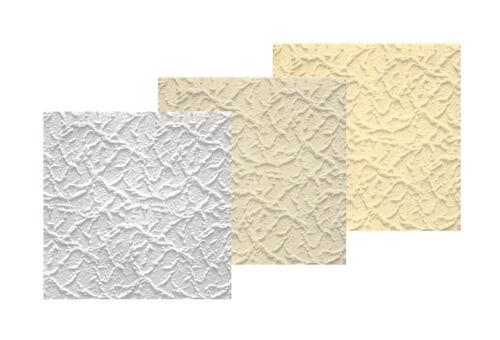 1 mètres carrés de plaques de plafond Plaques décor Panneau Polystyrène Carreaux Couverture 50x50cm Bryza jaune