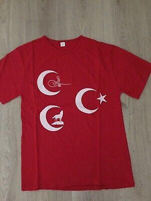 Türk Göktürk Bozkurt Kurt Kök böri Osmanli türkiy T-Shirt