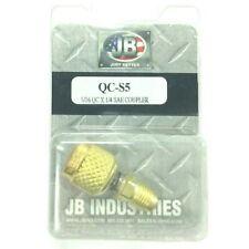 Refrigerant Hose Quick Coupler 14 X 516 Qc S5s Hvac Freon Gauges Made In Usa