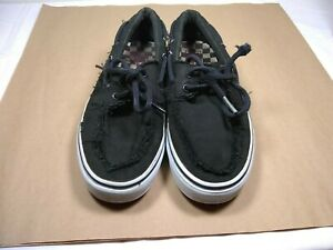 e45c7803b9 Vans Off The Wall Mens Size 8.5 women s 10 Canvas Lace Up