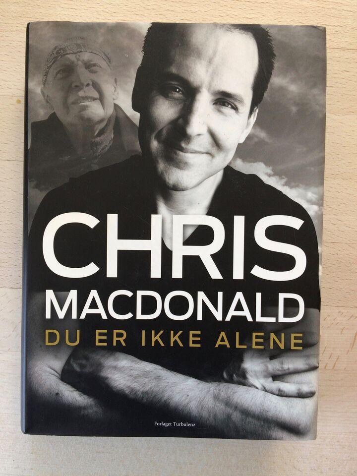 Du er ikke alene, Chris MacDonald, genre: biografi