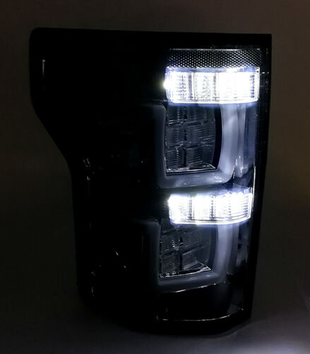 For 2015 2016 2017 Ford F150 LED Tail Lights Lamps Smoked Lens W//O Blind Spot