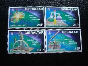 Gibraltar-Briefmarke-Yvert-Tellier-N-692-A-695-N-MH-Ou-N-MNH-A44