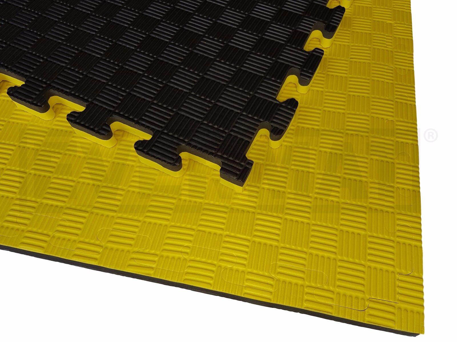 EVERMAT® 6sqm 20mm Reversible Jiu Jitsu Judo Karate MMA Taekwondo Gym Floor Mat