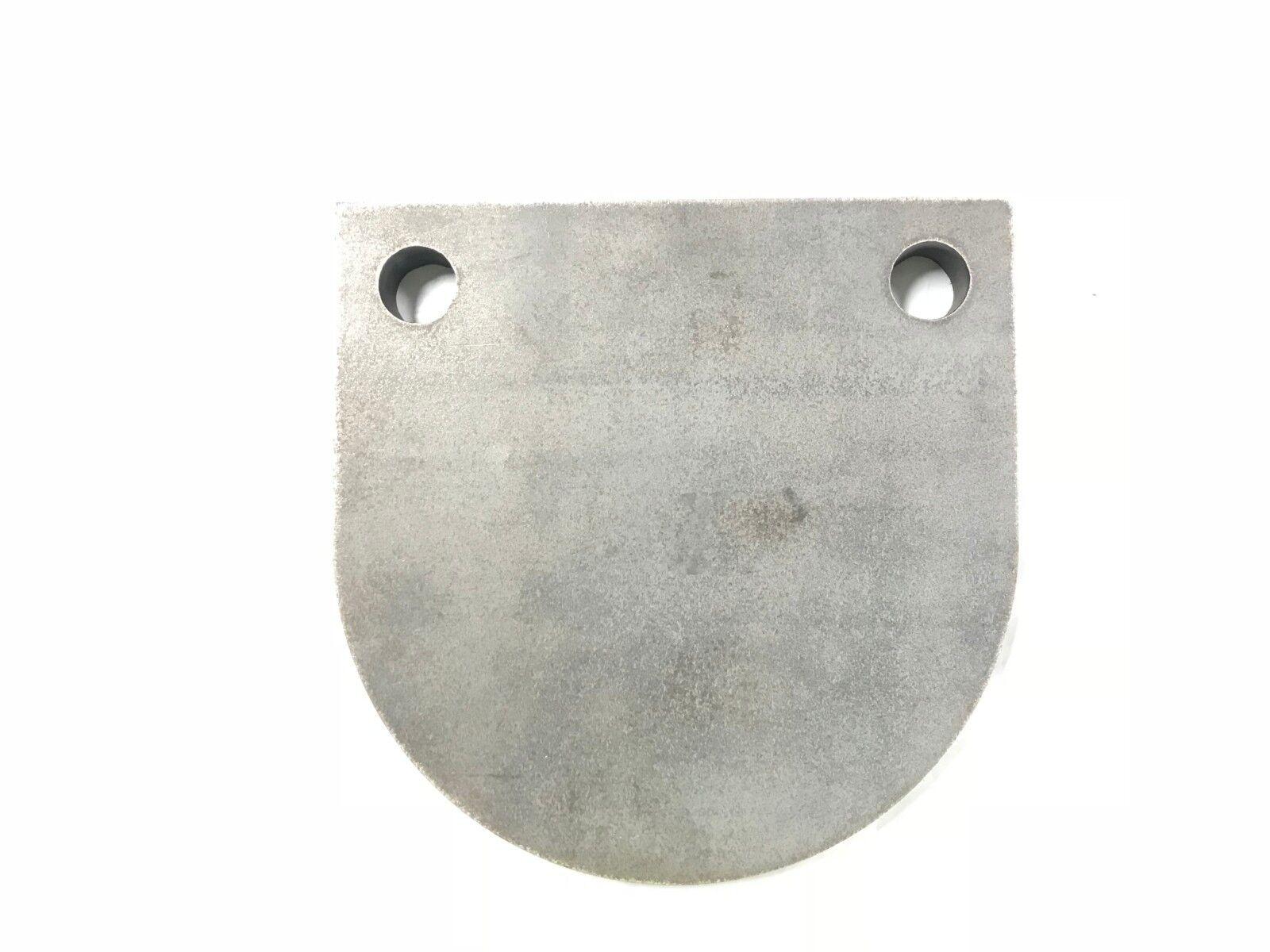 "AR500 Steel Target Gong 3 4""X 8"" .50BMG"