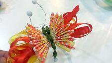 Headband Hair band Handmade  Baby Girls Headwear Butterfly design Multicolor #6