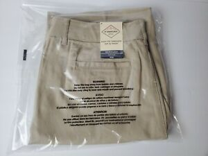 ST-JOHNS-BAY-SHORTS-TAN-KHAKI-BERMUDA-BISCOTTI-WOMENS-SIZE-12-clothes-knickers