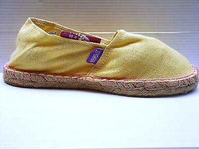 253 Colors Of California Espadrillas Donna Colore Yellow