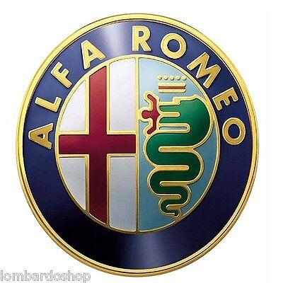2x Alfa Romeo 147 156 159 Brera Mito Insignia Emblema Clásico Giulietta parte delantera posterior