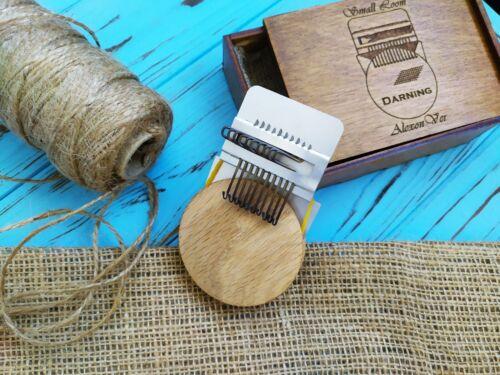 Small loom Darning. Speedweve type Weaving loom tapestry loom