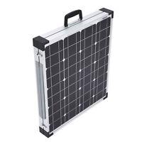 Portable 80w 12v Folding Monocrystalline Solar Panel Kit For Motorhome Caravan