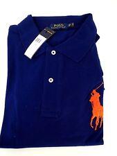 NWT Polo Ralph Lauren Polo Classic Mesh Shirt 3XB XXXL BIG Pony Blue