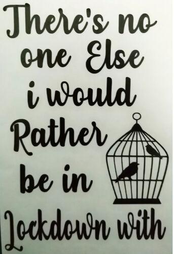 Заблокировать птица птицы клетка блокировки наклейка переводная картинка винил силуэт бутылка стена