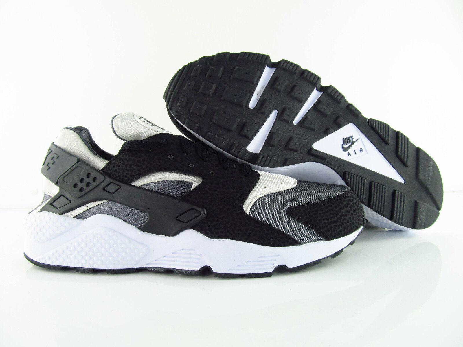 Nike Air Huarache Black White Dark Grey UK_12 US_13 Eur 47.5