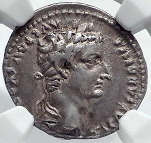 TIBERIUS-36AD-Silver-BIBLICAL-Roman-Coin-Jesus-Christ-RENDER-CAESAR-NGC-i81773